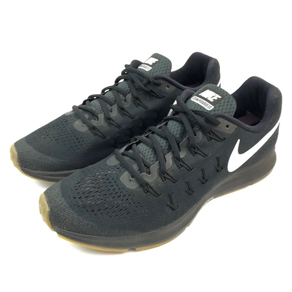 Nike Shoes Zoom Pegasus 33 Black Mens US 10.5 0b6d21505